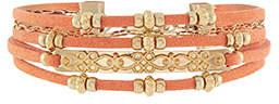 Accessorize Beach Comber Multi Cord Bracelet