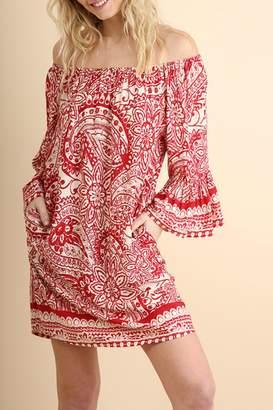 Umgee USA Ots Bandana Dress