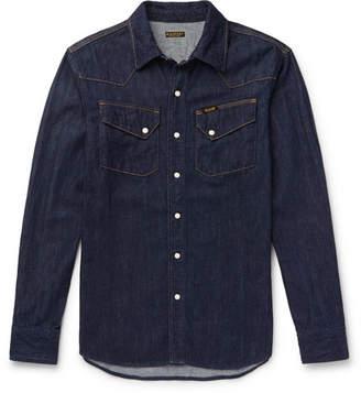 KAPITAL Slim-Fit Denim Western Shirt