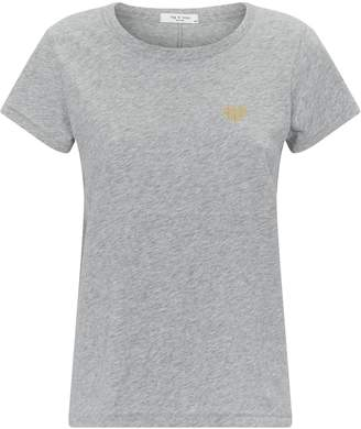 Rag & Bone Heart Pima Cotton T-Shirt