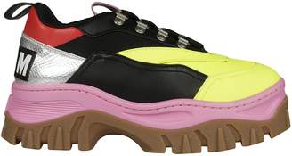 MSGM Color-block Tractor Sneakers