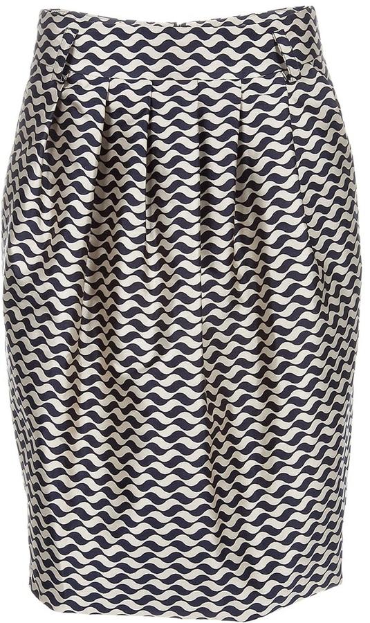 Pauw Pleat detail skirt