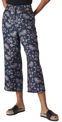 Whistles Pitti Silk Crop Pants