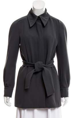 Marc Jacobs Belted Long Sleeve Jacket