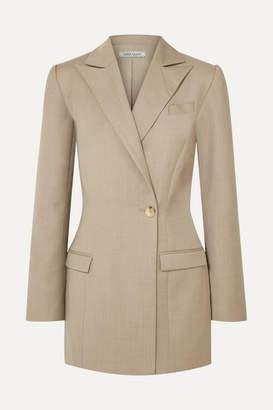 BEIGE ANNA QUAN - Sienna Wool And Cashmere-blend Blazer