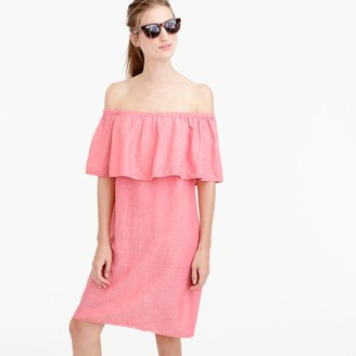 Off-the-shoulder dress $75 thestylecure.com
