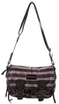 Sonia Rykiel Leather-Trimmed Nylon Bag