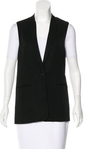 J BrandJ Brand Woven Button-Up Vest