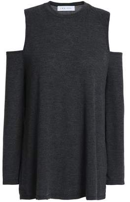 IRO Cold-Shoulder Jersey Top