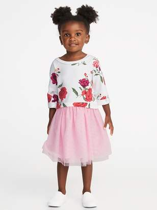 Old Navy 2-in-1 Fit & Flare Tutu Dress for Toddler Girls