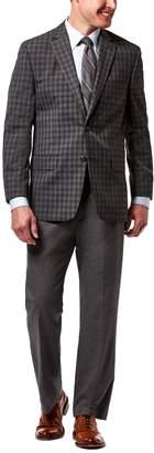 Haggar Men's Classic-Fit Checked Sport Coat