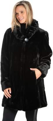 Nuage Faux Fur Sheared Beaver Coat