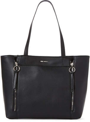Nine West Black Zalika Tote
