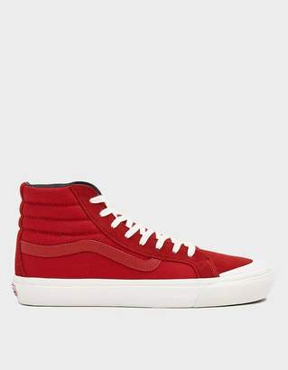 Vans Vault By Style 138 LX Sneaker in Racing Red/Checkerboard