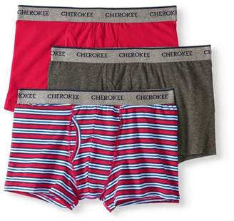 Cherokee Men's Cotton Stretch Boxer Shorts 3 Pack