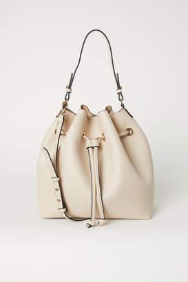 H&M Large Bucket Bag - Beige
