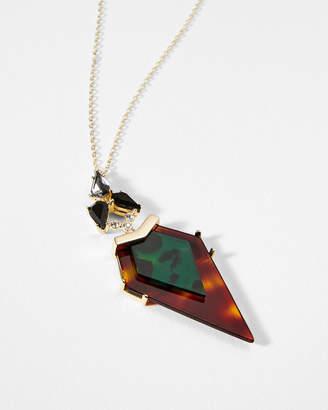 Ted Baker MYAHLA Arrow crystal pendant
