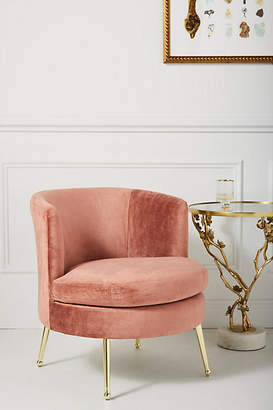 Anthropologie Cynthia Petite Accent Chair