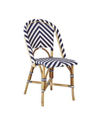 Serena & Lily Riviera Side Chair - Chevron