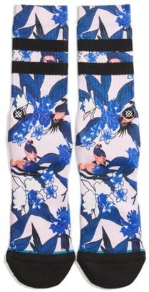 Men's Stance Buggin Crew Socks $15 thestylecure.com