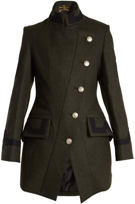 VIVIENNE WESTWOOD ANGLOMANIA States wool-blend military coat