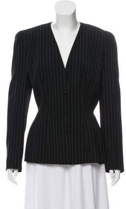 Thierry Mugler Vintage Pinstripe Jacket