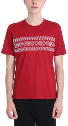 Ermenegildo Zegna Lana Merino Red T-shirt