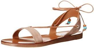 Steve Madden Women's Rennyy Flat Sandal 8 B US