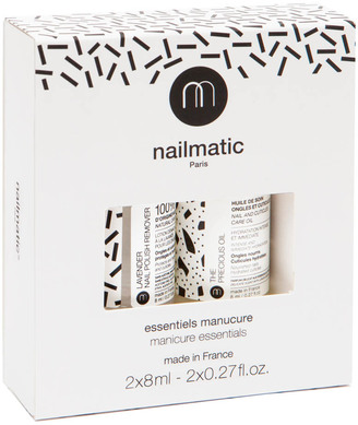 NAILMATIC Essentials Kit Remover & Oil $19.20 thestylecure.com