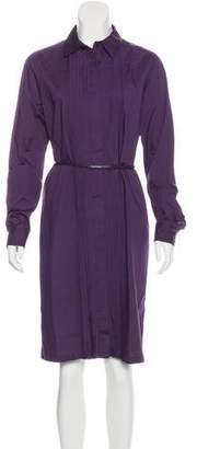 Max Mara Pleated Midi Dress