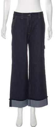 Cinq à Sept Gemma High-Rise Wide-Leg Jeans w/ Tags