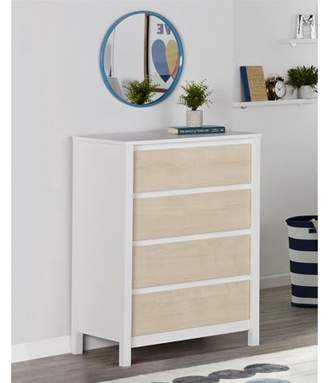 Novogratz Addison 4 Drawer Dresser, Natural