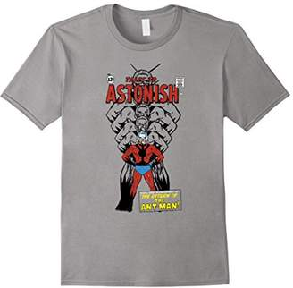 Marvel Ant-Man Classic Retro Getting Bigger Graphic T-Shirt