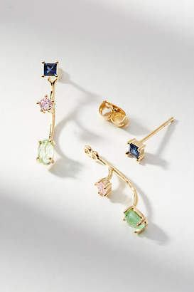 Anthropologie Marguerite Front-Back Earrings