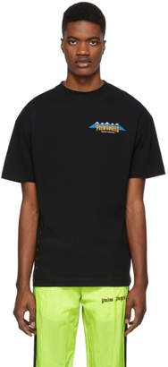 Palm Angels Black Yosemite Experience T-Shirt