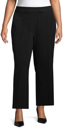 Liz Claiborne Wide Leg Crop Pant- Plus
