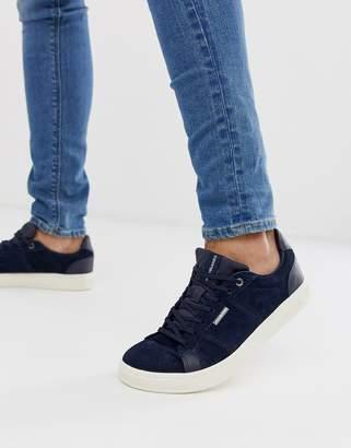 Jack and Jones nubuck sneakers