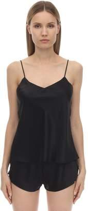 Luna Di Seta Silk Camisole Top