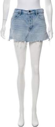 Alexander Wang Denim x Denim Mini Skirt