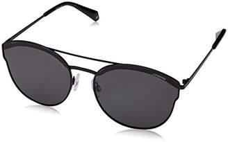 Polaroid Women's PLD 4057/S M9 2O5 Sunglasses, Black Grey