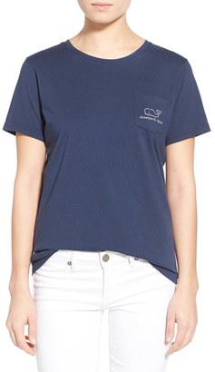 Women's Vineyard Vines Whale Graphic Short Sleeve Pocket Tee $45 thestylecure.com