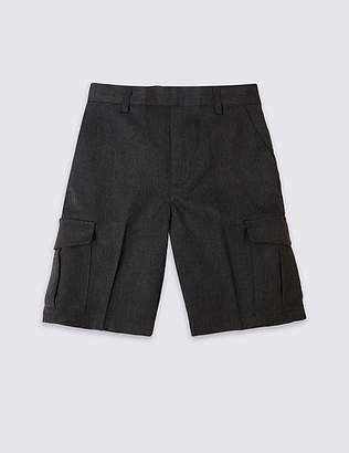 Marks and Spencer Boys' Plus Fit Cargo Shorts