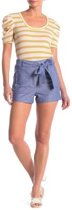 Tart Dax Belted High Waisted Shorts