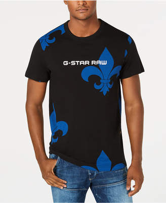 G Star Men's Fleur-De-Lis T-Shirt, Created for Macy's