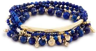 Kendra Scott Supak Beaded Bracelet Set in Lapis