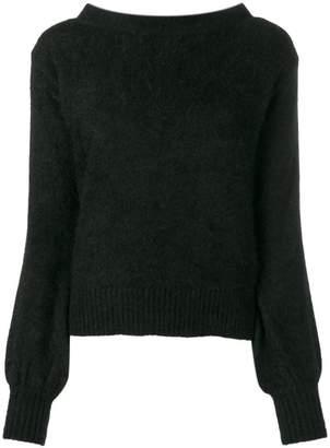 Semi-Couture Semicouture back tie jumper