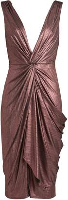 Katie May Sass Twisted Plisse Dress