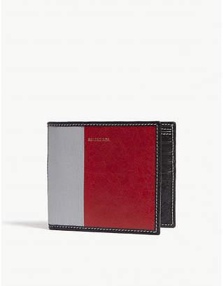 Balenciaga Bazar leather wallet