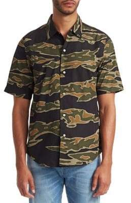 G Star Camouflage Short-Sleeve Shirt