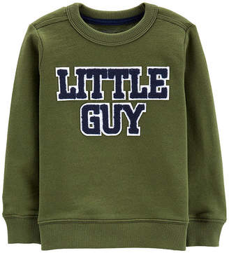 Carter's French Terry Pullover - Baby Boys